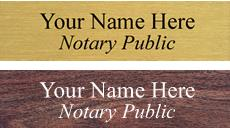 Signs, Engraved Plates, Nameplates, Desk Name Plates, Door Nameplates, Brass Engraved Plates and Name Badges, Wall or Door Nameplates or Custom Sign with METAL FRAME