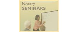 Notary Public Seminars