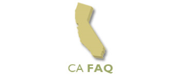 California FAQ's