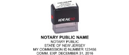 BNJ2 - <center> New Jersey Notary Commission 