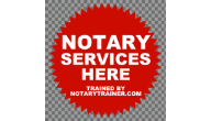 NOTARY PUBLIC WINDOW DECAL, CLEAR WINDOW DECAL PUBLIC NOTARY, NOTARIO PUBLICO, WINDOW DECAL, STATIC CLING SIGN, CLEAR WINDOW SIGN, GREEN STATIC CLING SIGN, RED STAR NOTARY