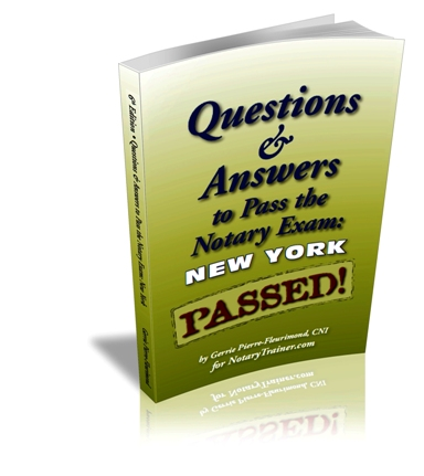Notary Practice Test to Pass the New York Notary Test