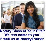 Onsite Notary Class