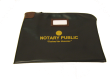 Large Locking Notary Zipper Case,Large Notary Bag, Large Notary Zipper Case, Notary Zipper Case, Notary Supplies, Large Notary Case, Notary Locking Case